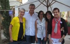 14 sept 2014 - Antigone Assos - FAM avec le maire de Montpellier