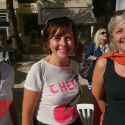 10 sept 2017 - Carole DELGA sur le stand FAM 01
