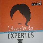 20 mai 2016 - Annuaire des Expertes 2016 - Club de la Presse