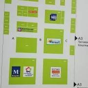 Panneau Hall 02 - Foire de Montpellier
