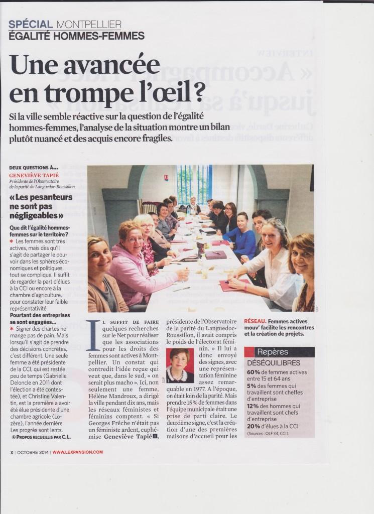 L'Expansion - Oct 2014 - article FAM 01