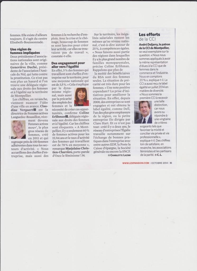 L'Expansion - Oct 2014 - article FAM 02