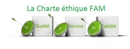 Charte éthique - qualité - engagements - promesses clients