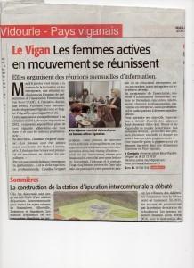 Midi Libre - 6 janvier LE VIGAN