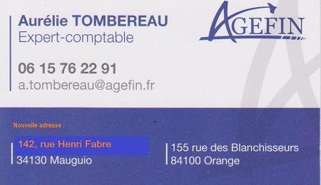 Aurelie TOMBERAU - AGEFIN - Expert comptable
