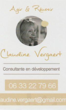 Claudine Vergaert - Strategie Agir et Reussir
