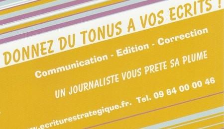 Ecriture Strategique - Ghislaine DESTRUHAUT