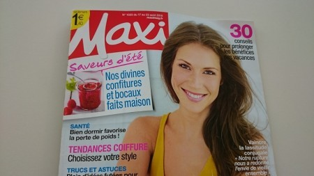 MAXI de aôut - 2 articles Femmes Actives Mouv