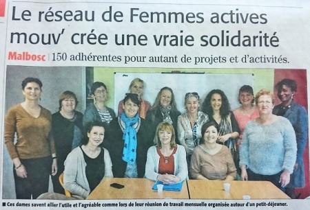 Exposition mars 2016 - article Midi Libre jeudi 24 mars 2016