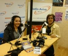 17 mars - Radio AVIVA - avec Farah Harmonie - Promotion SALON FAM.JPG