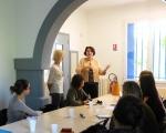 24 avril 2014 - Visite de Me LE DAIN- Deputee Herault