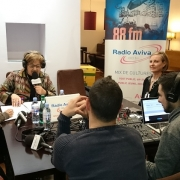8 mars - Plaza de Espana - Interview Radio Aviva 01