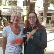 10 sept 2017 - Claudine et Pascaline sur le stand FAM