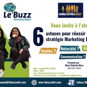 5 mai 2017 - Atelier COM - Le Buzz Marketing Digital