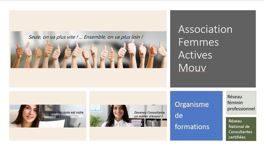 Présentation Femmes Actives Mouv - Une Association dynamique