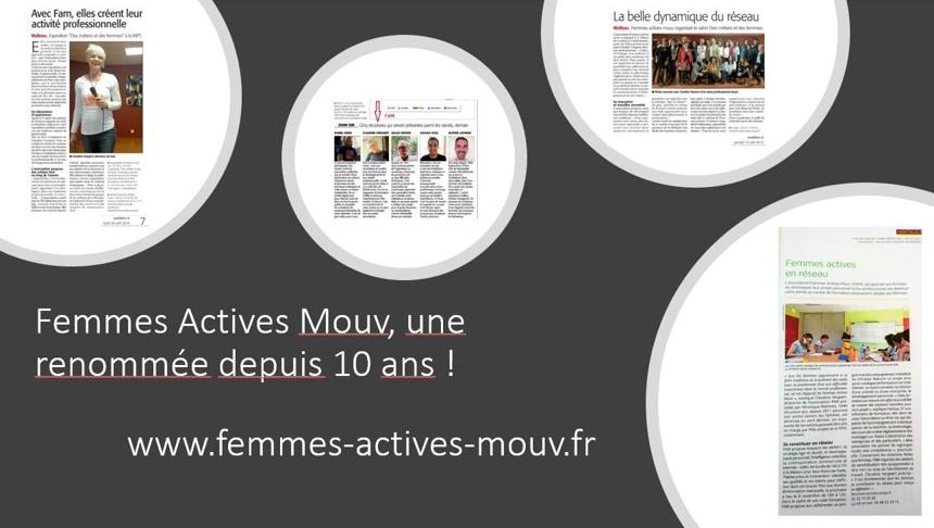 Présentation Femmes Actives Mouv - Une renommée acquise