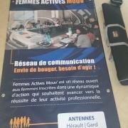 Banderole Femmes Actives Mouv'