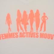 Logo T-shirt Femmes Actives Mouv