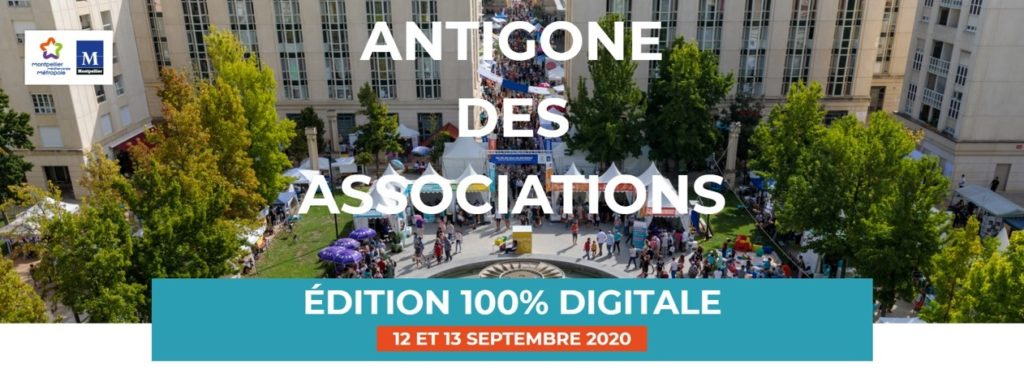 Antigone des Associations - Montpellier 2020 - 100% digital