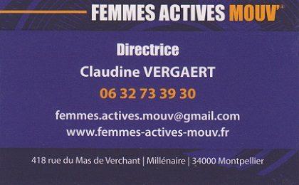 Claudiine VERGAERT - Directrice FAM