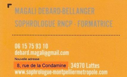 Magali Debard-Bellanger - Sophrologue