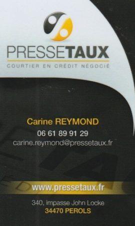 Carine REYMOND - Pressetaux