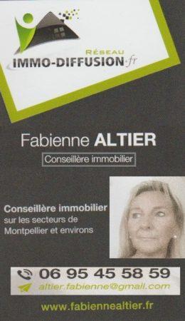 Fabienne ALTIER - Conseiller Immobilier - reseau Immo-Diffusion