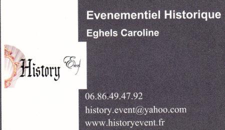 Hitory events - Caroline Eghels