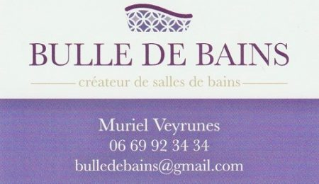 Muriel VEYRUNES - Bulle de bains