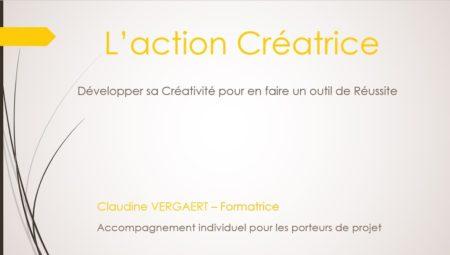 L'action Créatrice - Développer sa créativité