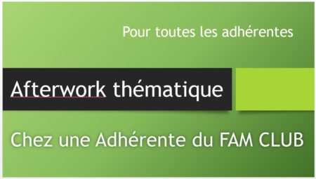 Afterwork thematique